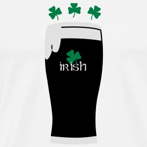 irish_beer Buttons / Anstecker - Männer Premium T-Shirt