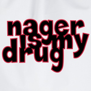 Nager is my drug ! Tee shirts - Sac de sport léger