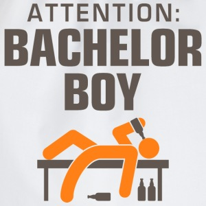 Attention Bachelor Boy 3 (dd)++ T-Shirts - Drawstring Bag