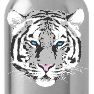White Tiger T-Shirts - Water Bottle