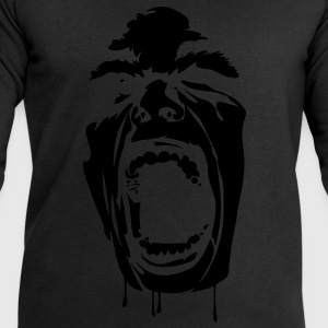 Noir screaming_face Tee shirts Enfants - Sweat-shirt Homme Stanley & Stella