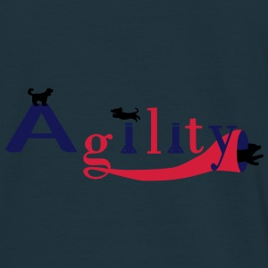 Agility 3 chiens Sweat-shirts - T-shirt Homme