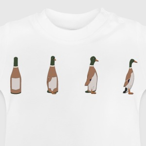 Duck Bottle Kids' Shirts - Baby T-Shirt