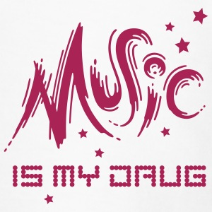 Music is my Drug - Men's Premium T-Shirt
