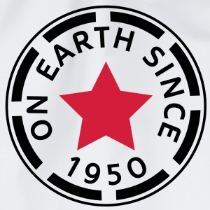 on earth since 1950 (it) T-shirt - Sacca sportiva