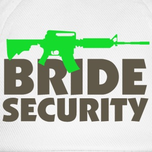 Bride Security 3 (dd)++ Kids' Shirts - Baseball Cap