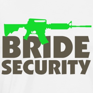 Bride Security 3 (dd)++ Pullover & Hoodies - Männer Premium T-Shirt