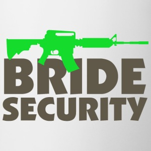Bride Security 3 (dd)++ Sudadera - Taza