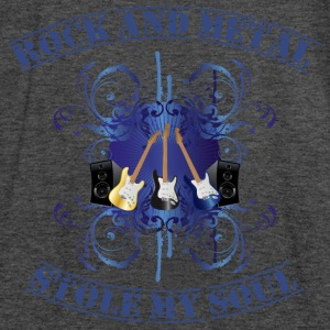 Rock and Metal stole my soul - blue Sweaters - Vrouwen tank top van Bella