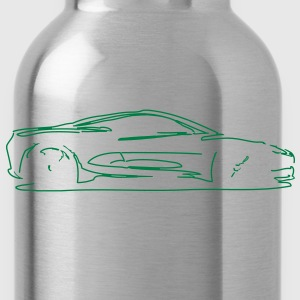 Car Sketch - Water Bottle