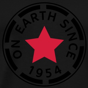 on earth since 1954 (nl) Sweaters - Mannen Premium T-shirt