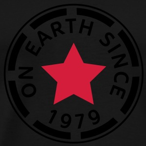 on earth since 1979 (es) Sudadera - Camiseta premium hombre