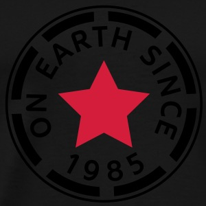 on earth since 1985 (dk) Sweatshirts - Herre premium T-shirt