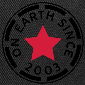 on earth since 2003 (nl) Sweaters - Snapback cap