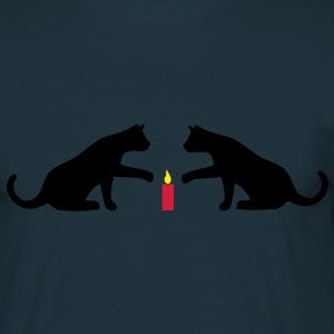 Cat bougie Sweat-shirts - T-shirt Homme