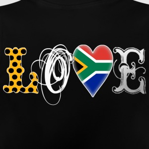 Love South Africa White Kinder Pullover & Hoodies - Baby T-Shirt