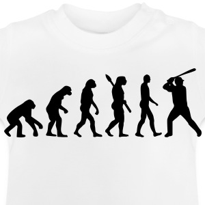 Baseball Evolution Kinder T-Shirts - Baby T-Shirt