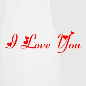 Casquette Flexfit I love you Rouge - Tablier de cuisine