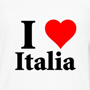 t-shirt homme I Love Italia - T-shirt manches longues Premium Homme