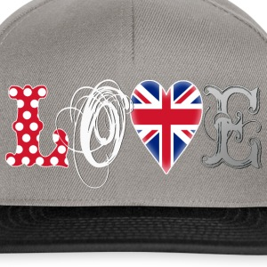 Love UK White Hoodies - Snapback Cap
