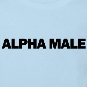 Alpha Male Baby Shirts  - Kids' Organic T-shirt