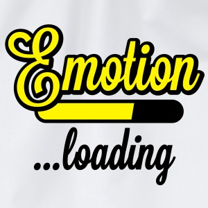 Emotion loading | Emotion wird geladen T-Shirts - Gymnastikpåse