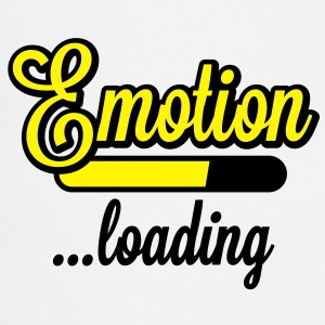 Emotion loading | Emotion wird geladen T-Shirts - Tablier de cuisine