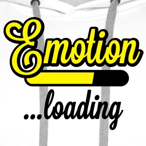 Emotion loading | Emotion wird geladen T-Shirts - Bluza męska Premium z kapturem