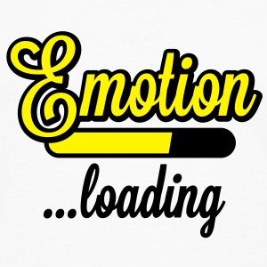Emotion loading | Emotion wird geladen T-Shirts - Premium langermet T-skjorte for menn
