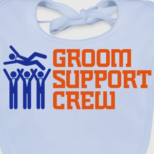 Groom Support Crew 2 (2c)++ T-shirt bambini - Bavaglino