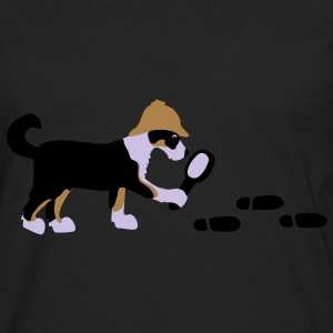 Search-and-rescue dog Väskor - Långärmad premium-T-shirt herr