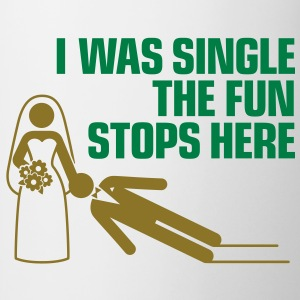 I Was Single 1 (2c)++ Camisetas - Taza