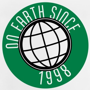Birthday Design - On Earth since 1998 (sv) Barn-T-shirts - Baby-T-shirt