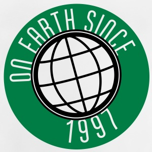 Birthday Design - On Earth since 1997 (sv) Barn-T-shirts - Baby-T-shirt