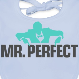 Mr Perfect 3 (dd)++ Kinder shirts - Bio-slabbetje voor baby's
