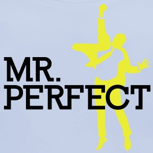 Mr Perfect 2 (2c)++ Kinder shirts - Bio-slabbetje voor baby's