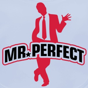 Mr Perfect 1 (2c)++ Kinder shirts - Bio-slabbetje voor baby's