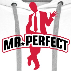 Mr Perfect 1 (2c)++ Kookschorten - Mannen Premium hoodie