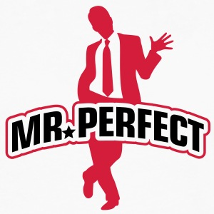 Mr Perfect 1 (2c)++ Kookschorten - Mannen Premium shirt met lange mouwen