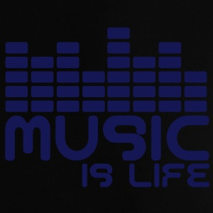 Music is life with equaliser  Sacs - T-shirt Bébé