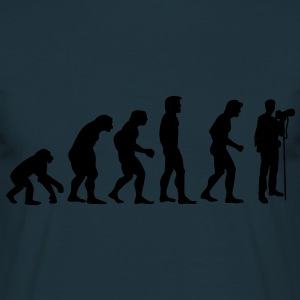 photographer evolution Hoodies & Sweatshirts - Men's T-Shirt