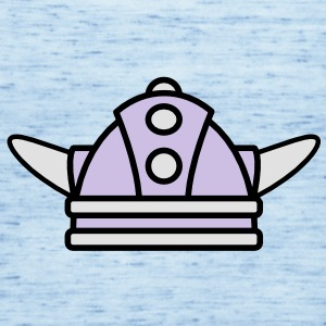 Kind Wikinger Helm | Child Viking helmet Kinder T-Shirts - Singlet for kvinner fra Bella