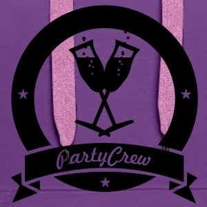 party crew (1c) Bags  - Women's Premium Hoodie