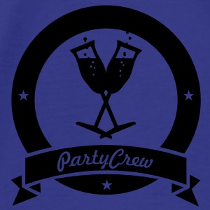 party crew (1c) Bags  - Men's Premium T-Shirt
