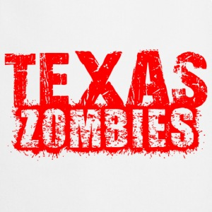 texas zombies Shirts - Keukenschort