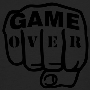 Game over | Fist | Faust T-Shirts - Camiseta de manga larga premium hombre