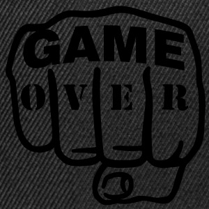 Game over | Fist | Faust T-Shirts - Snapback-caps