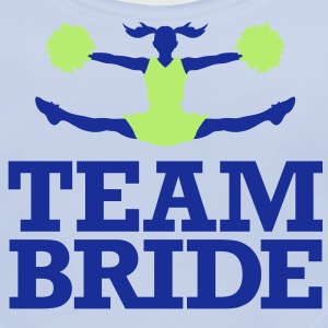 Team Bride 1 (2c)++ Kids' Shirts - Baby Organic Bib