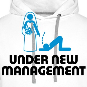 Under New Management 2 (2c)++ T-shirts - Mannen Premium hoodie