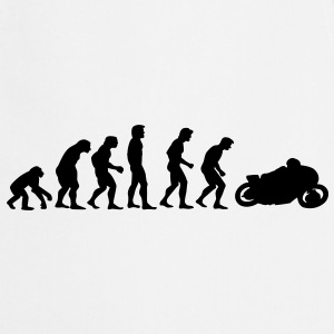 motorcycle evolution Sweaters - Keukenschort